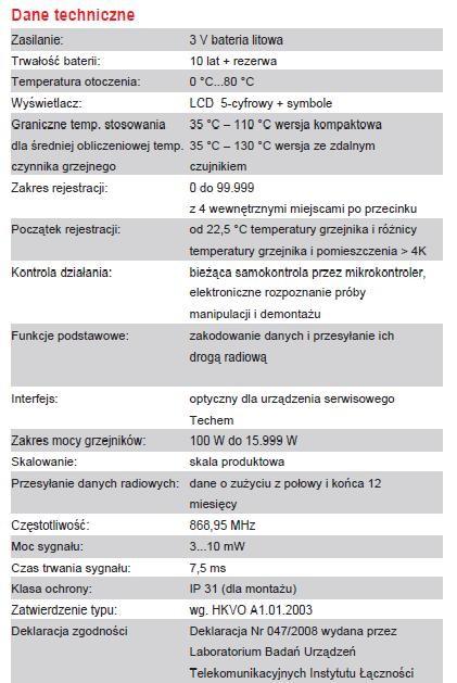 techem_dane_techniczne