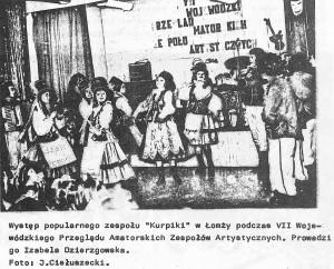 Zespół Kurpiki w Łomży