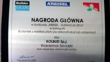 KOLBUD_NAGRODA